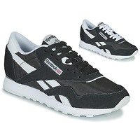 Sapatos Mulher Sapatilhas Reebok Classic CL NYLON Preto / Branco