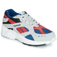 Sapatos Rapaz Sapatilhas Reebok Classic AZTREK J Cinza / Vermelho