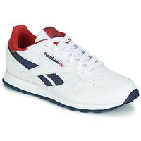 Sapatos Criança Sapatilhas Reebok Classic CLASSIC LEATHER J Branco / Vermelho
