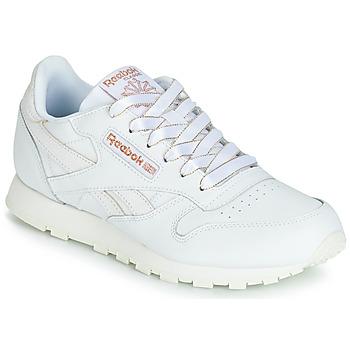 Sapatos Rapariga Sapatilhas Reebok Classic CLASSIC LEATHER J Branco / Glitter