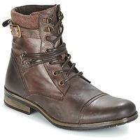 Sapatos Homem Botas baixas Casual Attitude RIVIGH Castanho