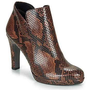 Sapatos Mulher Botins Tamaris LYCORIS Castanho