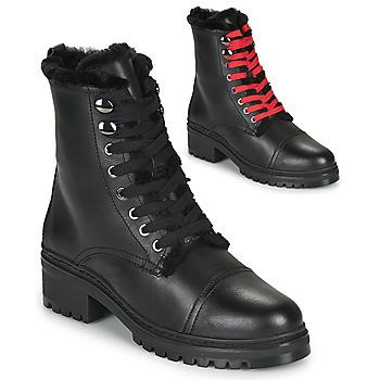 Sapatos Mulher Botas baixas Unisa IRACHE Preto
