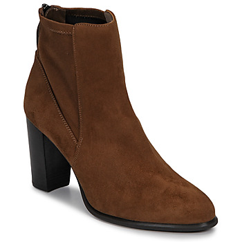 Sapatos Mulher Botins Unisa UNDER Castanho