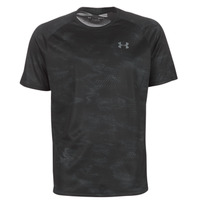 Textil Homem T-Shirt mangas curtas Under Armour TECH 2.0 SS PRINTED Preto