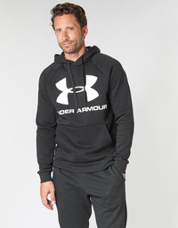 Textil Homem Sweats Under Armour RIVAL FLEECE SPORTSTYLE LOGO HOODIE Preto