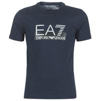 Textil Homem T-Shirt mangas curtas Emporio Armani EA7 GPT81-PJM9Z-1554 Marinho