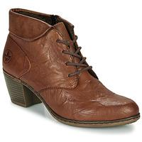 Sapatos Mulher Botins Rieker Y2131-24 Castanho