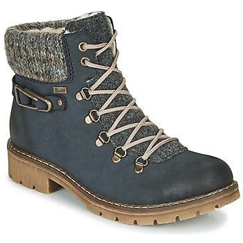 Sapatos Mulher Botas baixas Rieker Y9131-16 Azul