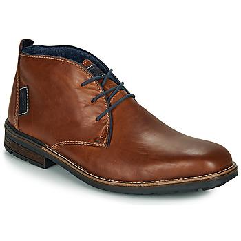 Sapatos Homem Botas baixas Rieker F1310-26 Castanho