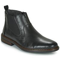 Sapatos Homem Botas baixas Rieker DANE Preto