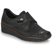 Sapatos Mulher Mocassins Rieker 537C0-02 Preto
