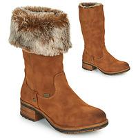 Sapatos Mulher Botas Rieker 96854-26 Camel