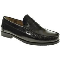 Sapatos Homem Mocassins Fleximax 7000 Negro