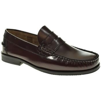 Sapatos Homem Mocassins Fleximax 7000 Rojo