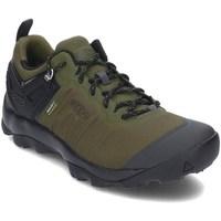 Sapatos Homem Sapatos de caminhada Keen 1021169 Preto, Verde azeitona