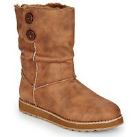 Sapatos Mulher Botas baixas Skechers KEEPSAKES 2.0 Camel