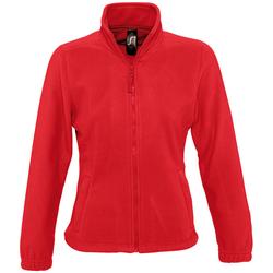 Textil Mulher Casaco polar Sols NORTH POLAR WOMEN Rojo