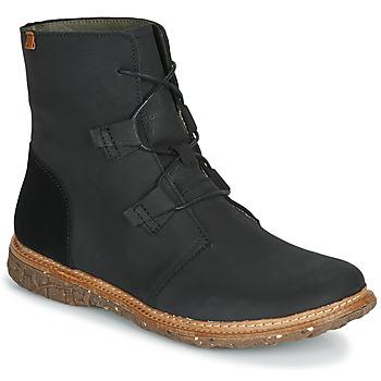 Sapatos Mulher Botas baixas El Naturalista ANGKOR Preto