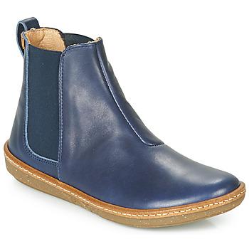 Sapatos Mulher Botas baixas El Naturalista CORAL Azul