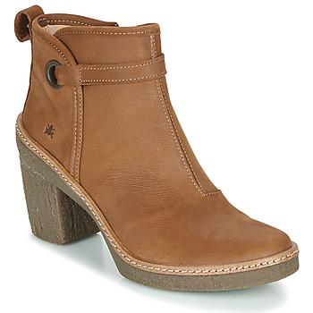 Sapatos Mulher Botins El Naturalista HAYA Castanho
