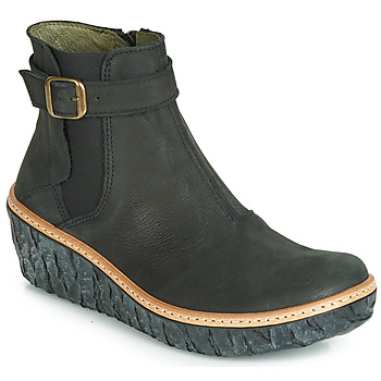 Sapatos Mulher Botins El Naturalista MYTH YGGDRASIL Preto
