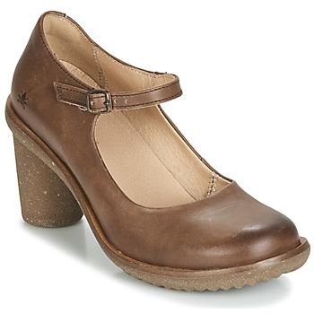 Sapatos Mulher Escarpim El Naturalista TRIVIA Castanho