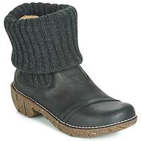 Sapatos Mulher Botas baixas El Naturalista YGGDRASIL Preto