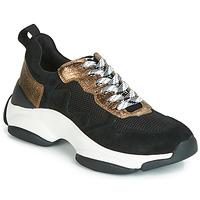Sapatos Mulher Sapatilhas Mam'Zelle HELIUM Preto / Bronze