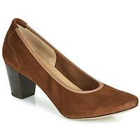 Sapatos Mulher Escarpim Perlato 10362-CAM-COGNAC Conhaque