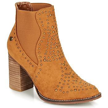 Sapatos Mulher Botins Xti AMELIO Camel