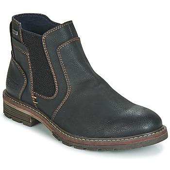 Sapatos Homem Botas baixas Tom Tailor MARTY Preto