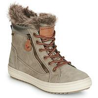 Sapatos Mulher Botas de neve Tom Tailor MARGA Cinza