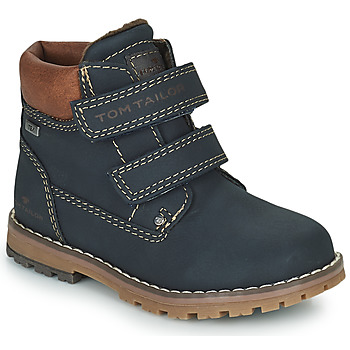 Sapatos Rapaz Botas baixas Tom Tailor 73003-BLEU Azul
