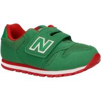 Sapatos Criança Multi-desportos New Balance IV373GR VERDE Verde