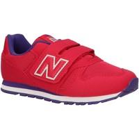 Sapatos Criança Multi-desportos New Balance YV373PY Rosa
