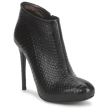 Sapatos Mulher Botins Roberto Cavalli TRONCHETTO Preto