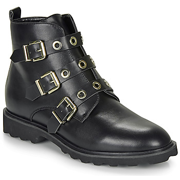 Sapatos Mulher Botas baixas Moony Mood FIZANE Preto
