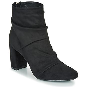 Sapatos Mulher Botins Moony Mood FIRETTE Preto