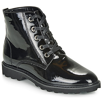 Sapatos Mulher Botas baixas Moony Mood FRULIN Preto