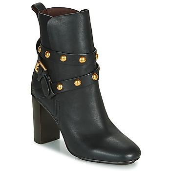 Sapatos Mulher Botins See by Chloé NEO JANIS Preto