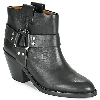 Sapatos Mulher Botins See by Chloé FEDDIE Preto