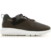 Sapatos Homem Sapatilhas Hogan HXM3710AQ10JIU737D color Mimetico