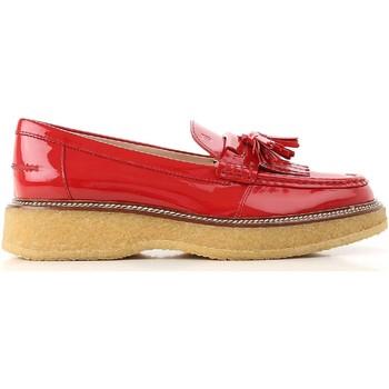 Sapatos Mulher Mocassins Tod's XXW30B0AK700W0R402 Rosso vivo