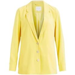 Textil Mulher Casacos/Blazers Vila  amarillo