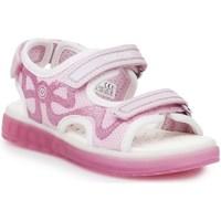 Sapatos Criança Sandálias desportivas Geox J Sblikk GB Cor-de-rosa