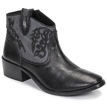 Sapatos Mulher Botins Les Tropéziennes par M Belarbi AMELIE Preto