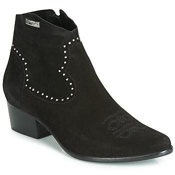 Sapatos Mulher Botins Les Tropéziennes par M Belarbi ASTRID Preto
