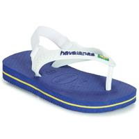 Sapatos Rapaz Sandálias Havaianas BABY BRASIL LOGO Marinho