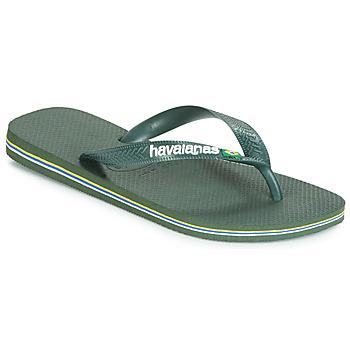 Sapatos Chinelos Havaianas BRASIL LOGO Verde